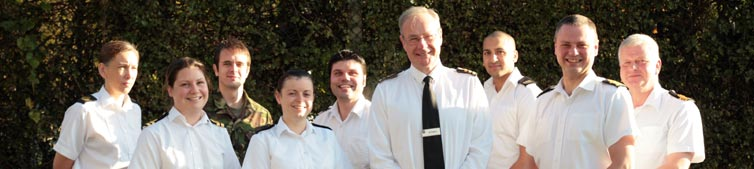 The Royal Navy Presentation Team
