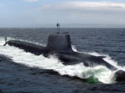 Artist's impression of Astute Class submarineat sea [Picture courtesy of BAE Systems]
