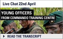 Live Chat - Young Officers