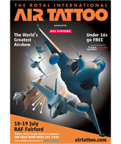 Royal International Air Tattoo 18-19 July 2009 Poster