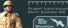 Flight Lieutenant Matt Carter MC, RAF Regiment