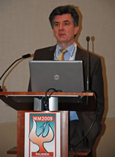 Steve Barlow, NDA Head of Assessments, speaking at Waste Management 09 in Pheonix, US.