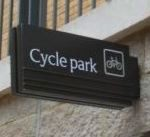 Cycle Park Sign