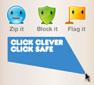 Click Clever Click Safe logo