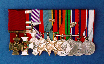 The medals of Wing Commander Leonard Cheshire VC, DSO**, DFC (Trustees of the Imperial War Museum, London)