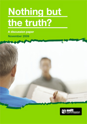 Nothing but the truth front cover