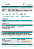 FRS Circular 16/2010 - Update on the Transfer of Ownership of New Dimension Assets