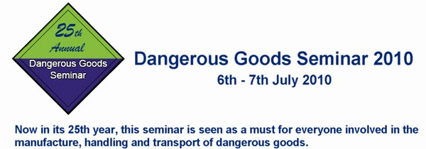 Dangerous Goods conference 2010 - information page