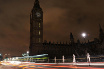 Earth Hour 2009. The lights at the Houses of Parliament in central London (Getty)