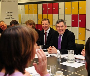 The Cabinet meet in the North East; PA copyright