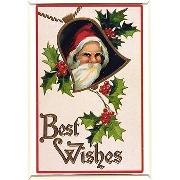 Greetings card - Father Christmas