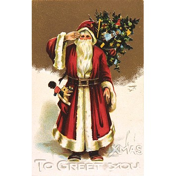 Greetings card - Xmas to Greet You