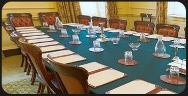 Number 10 will announce the new Cabinet here