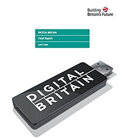 Digital Britain report cover