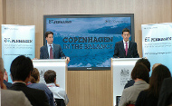 David Miliband and Ed Miliband hosted a briefing on the UN Climate Change Conference (Crown Copyright)