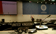 COP15 - early morning, before negotiations begin. (Crown Copyright)