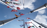 European Parliament flags (iStockphotos)