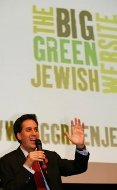 Ed Miliband at the launch of the Jewish Social Action Forum's climate change campaign (Jewish Social Action Forum)