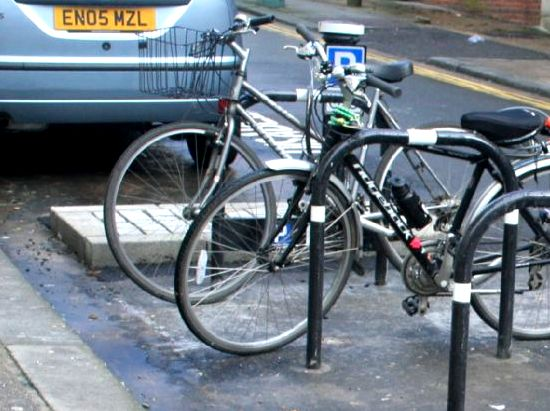 Pedal Cycle Parking Places, Brighton