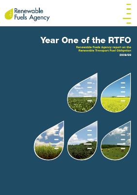 RFA 2008/09 report on the RTFO