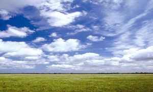 Environment and Rural field and sky image