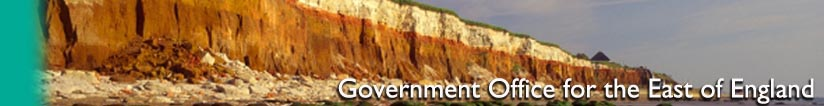 Banner of the Government Office for the East of England - Hunstanton, Norfolk