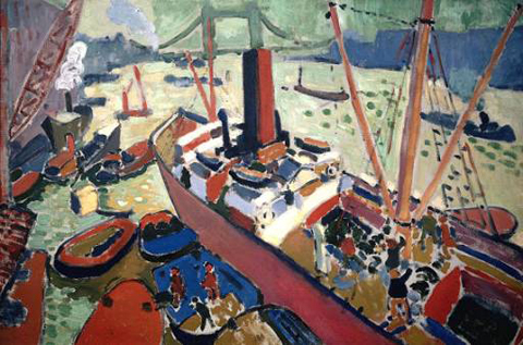 Andre Derain Port of London
