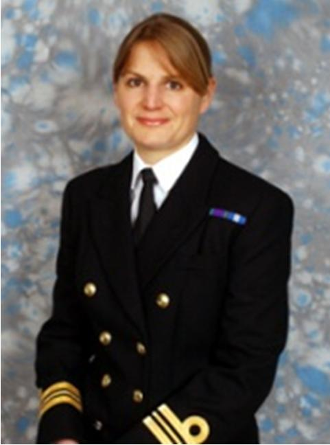 Lieutenant Commander Sarah West