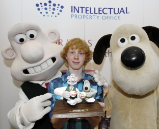 Wallace and Gromit with Elliot Cooke