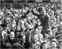 VJ Day celebrations in London