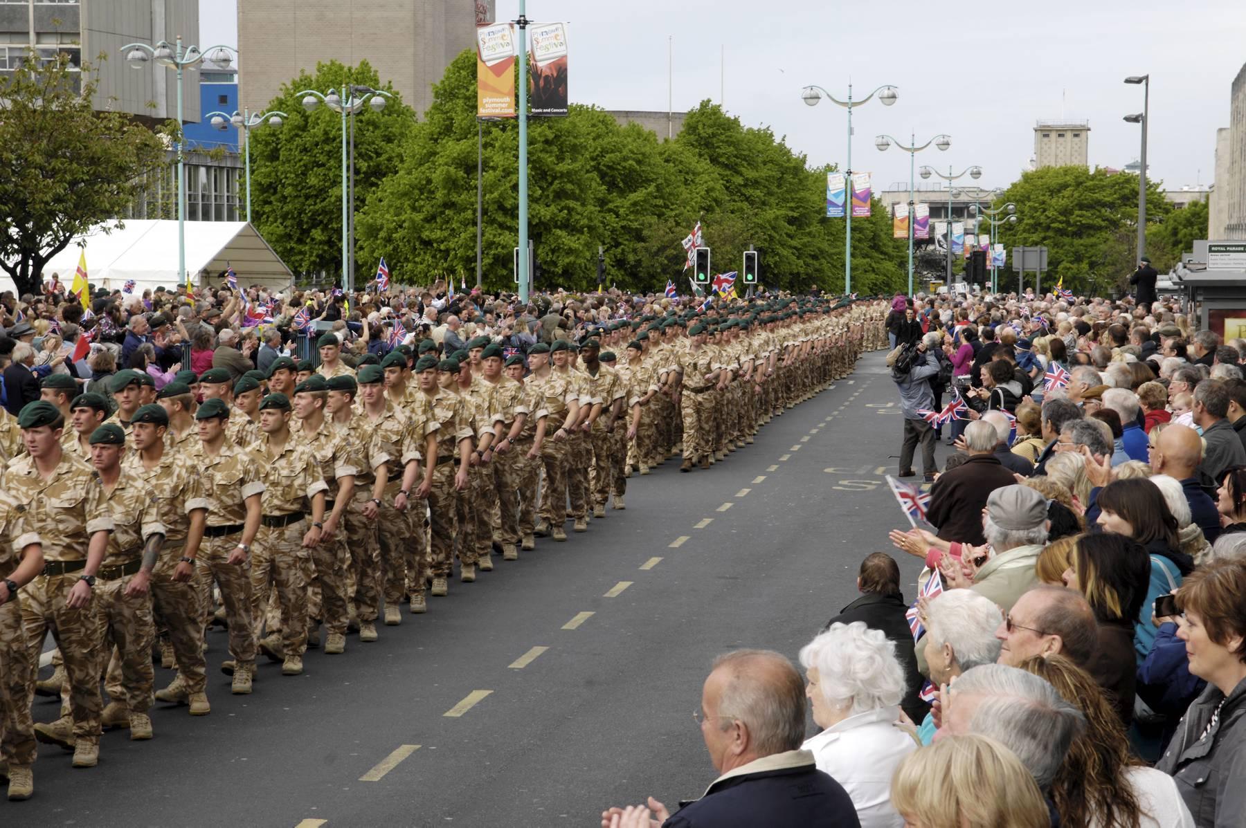 42 Commando March
