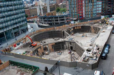 Tate Modern Oil Tanks Work In Progress