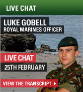 Live Chat - Royal Marines Officer