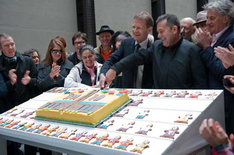 Tate Modern's Tenth Birthday Cake