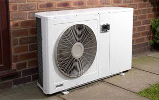 Example of a heat pump