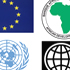 Logos of the World Bank, EU, African Development Bank and the UN