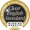 Clear English Standard Winning Website Gold