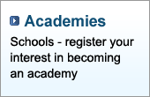 Schools, register your interest in becoming an academy.