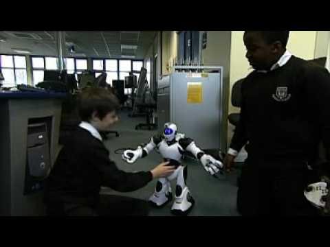 Robots: control technology