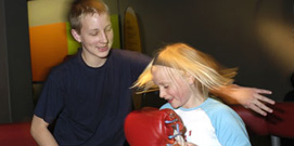 Children at the Science Museum