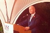 British Foreign Secretary William Hague at a high level dinner