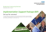 Implementation Support Package (ISP)