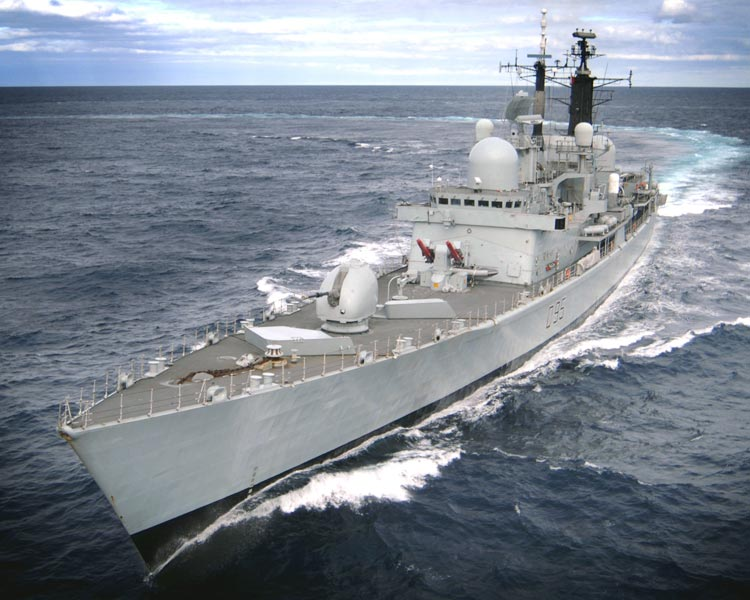 Drug buster HMS Manchester returns home for Christmas