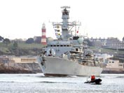 HMS Somerset returns home from Middle East patrol