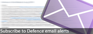 Subscribe to Defence email alerts