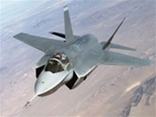 Lockheed Martin X-35 (Future Joint Combat Aircraft) during a test flight