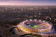 Olympic stadium for London 2012