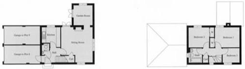 Typical apartment plan