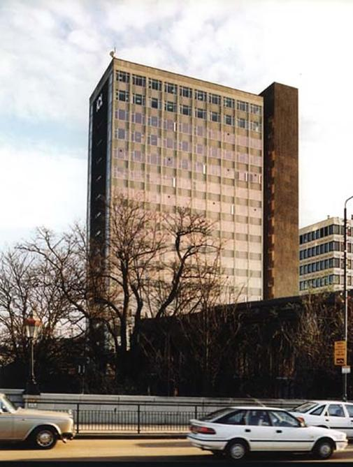 The ICL tower block before the conversion