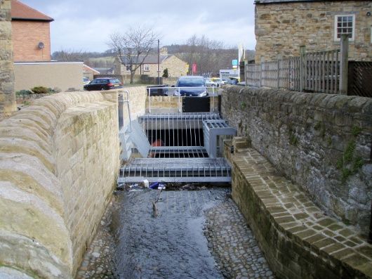 Hexham flood alleviation scheme, Northumberland